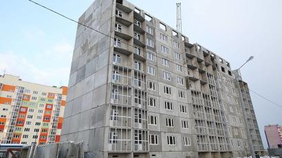 Строители обещают сдать первую очередь дома в декабре этого года