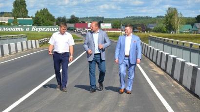 Игорь Орлов проверил качество новой дороги