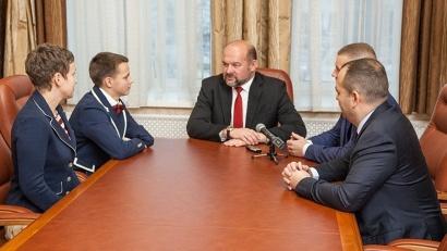 Игорь Орлов обсудил с паралимпийцами развитие спортивной инфраструктуры Поморья
