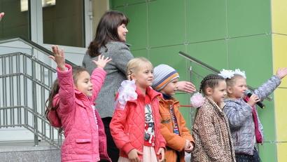 В Архангельской области сегодня работает более 500 детских садов, в которые ходят свыше 60 тысяч малышей