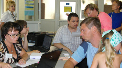 Мужчины интересовались рабочими местами в строительных организациях