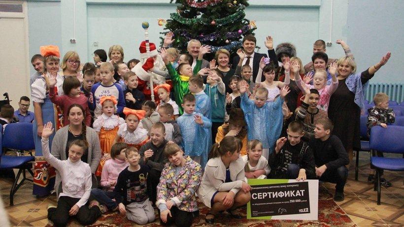 Новые веранды и игровая площадка – подарок воспитанникам детского дома-интерната к Новому году