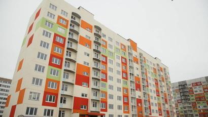 На 180-квартирном жилом доме в Архангельске уже завершены основные строительно-монтажные работы