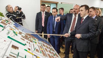 «Сердцем» комплекса станет лесоперерабатывающий завод, где будут созданы три линии распиловки