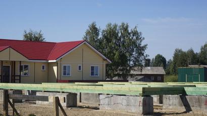 Фундамент нового дома уже готов. Фото газеты «Звезда»
