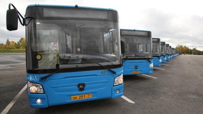 Новые автобусы уже вышли на маршруты в Архангельске