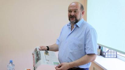 Игорь Орлов в гостях у районной газеты «Авангард»