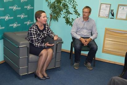 Елена Доценко рассказала ребятам о новых спортсооружениях Поморья