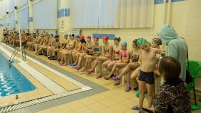В этом году научились плавать 133 воспитанника из шести детских домов и интернатов