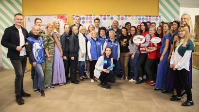 Губернатор и участники «Доброфеста»