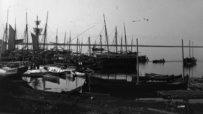У пристани на Северной Двине, 1902 год