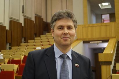 Главный врач Устьянской ЦРБ Александр Чеглаков