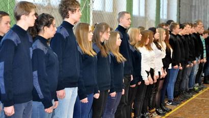 130 первокурсников принесли клятву верности своему учебному заведению