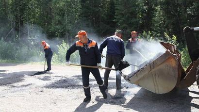 Из дорожного фонда Архангельской области на проведение работ выделено два миллиона рублей
