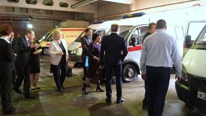 Депутат побывала на Архангельской станции скорой медицинской помощи