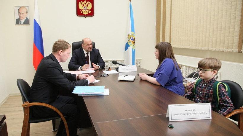 Фото пресс-службы Губернатора и Правительства