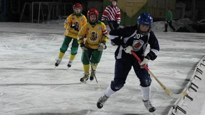 Плесецкие хоккеисты на соревнованиях в Архангельске
