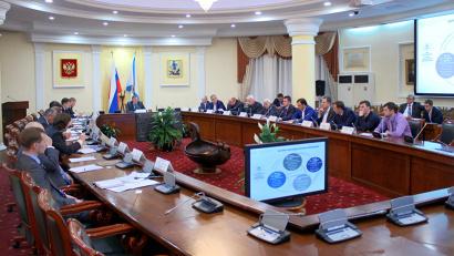Одним из главных вопросов заседания совета стало получения федеральной субсидии для развития кластера
