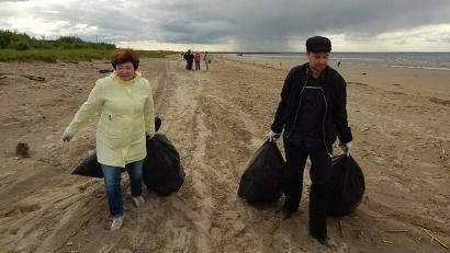 Центральное мероприятие региональной акции «Водным объектам – чистые берега и причалы» прошло в Северодвинске