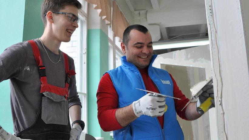 Тренер национальной сборной команды России в компетенции «Сухое строительство и штукатурные работы» Вагиф Шакаров делится секретами мастерства