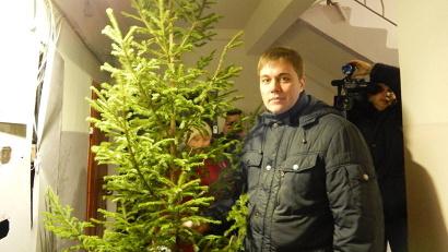 Корреспондент ГТРК «Поморье» Константин Бушуев прошёл весь путь добычи главного новогоднего символа