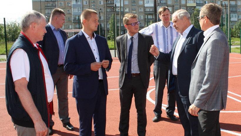 Александр Кузнецов обсудил с коллегами завершающий этап реализации проекта. Фото пресс-службы администрации Северодвинска