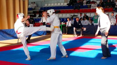 Киокусинкай - одна из самых трудных и жёстких разновидностей карате