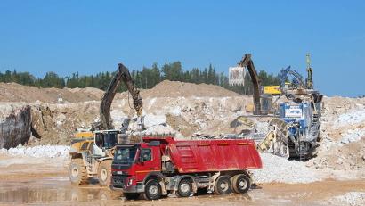 Ежегодно предприятие отгружает 650 тысяч тонн сырья