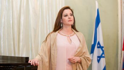 Хила Баджо, солистка Израильской оперы и выпускница Музыкальной академии имени Рубина в Тель-Авиве