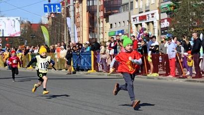 Среди самых юных участников состязаний победу вновь праздновала команда детского сада «Веснушки»