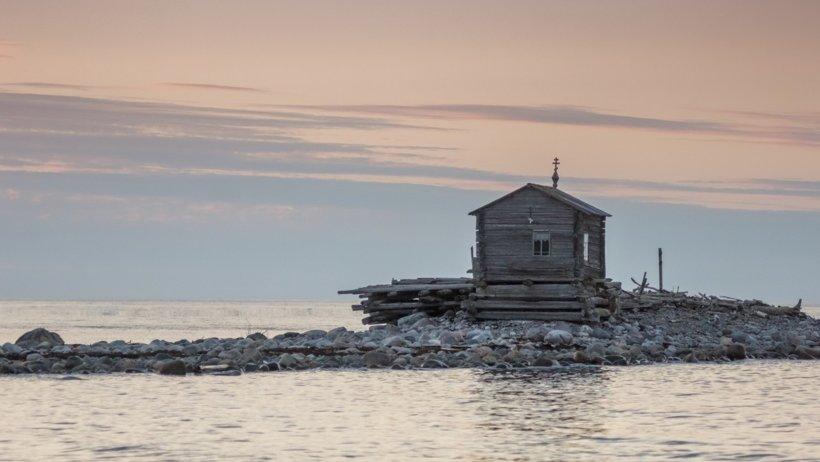 На берегах Белого моря. Фото Евгения Мазилова.