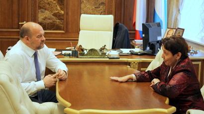 Игорь Орлов и Татьяна Телицина обсудили перспективы совместной работы