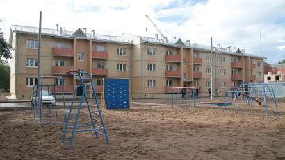 Дом готов, придомовая территория благоустроена. Фото пресс-службы администрации Северодвинска