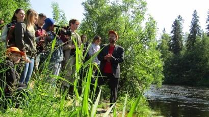 Журналистам региональных СМИ рассказали о «Легендах северных лесов»