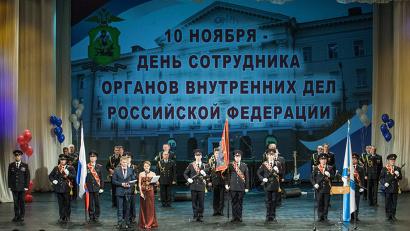 Свой профессиональный праздник стражи порядка Архангельской области встречают с хорошими показателями