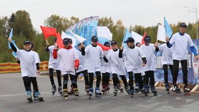 Первыми трассу опробовали воспитанники Устьянской специализированной ДЮСШ олимпийского резерва