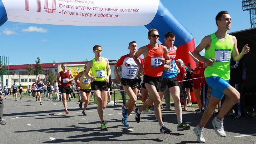 Более 200 спортсменов вышли на старт марафона «Гандвик»