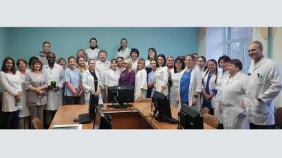Молодые сотрудники Архангельской городской больницы №7