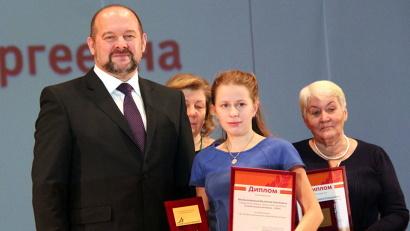 Игорь Орлов вручил награды победителям конкурса «Герой нашего времени», направленного на поддержку социально-активных северян