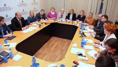 Встреча состоялась в агентстве по печати и СМИ Архангельской области