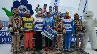 Победительница соревнований Светлана Николаева