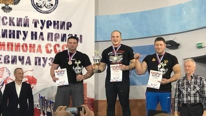 На Всероссийском турнире по армрестлингу команда Поморья завоевала две медали