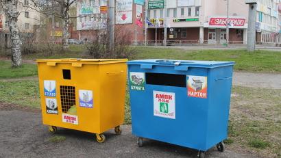 Контейнеры для раздельного сбора мусора: город станет чище!