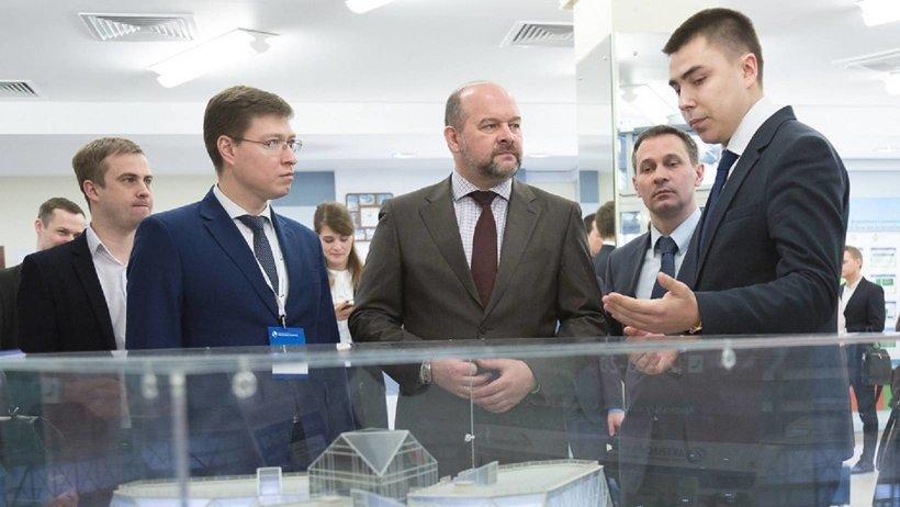 Проект центра, который строится на набережной Северной Двины в Архангельске, был представлен на XII Поморском строительном форуме