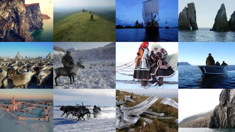 Одна из картин  –документальный фильм «Великий северный путь» (режиссер Л. Круглов)