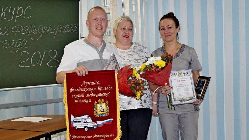 Победителями стали фельдшеры Вельской центральной районной больницы Сергей Волов и Ксения Брагина