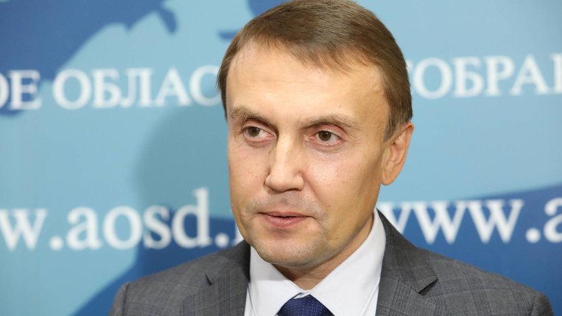 Депутат АОСД Сергей Моисеев. Фото: П. Кононов
