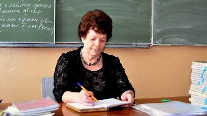 Алла Шехонина удостоена звания «Заслуженный учитель профессионально-технического образования РСФСР»