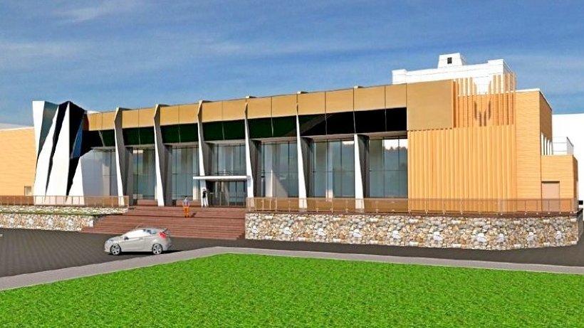 Таким будет обновлённый фасад здания