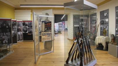 Уникальные экспонаты рассказывают о военной истории Архангельска